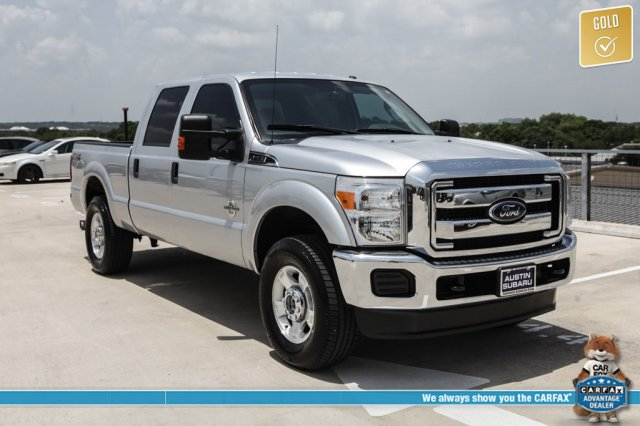 Pre-Owned 2015 Ford F-250SD XLT 4WD