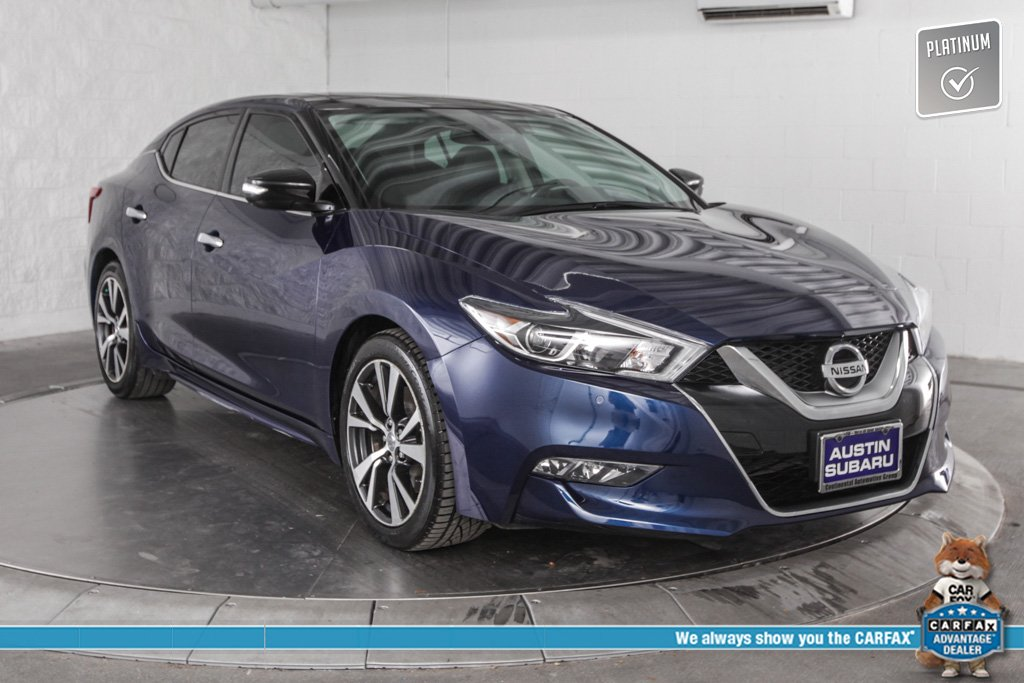 2016 Nissan Maxima 3.5 Sl >> Pre Owned 2016 Nissan Maxima 3 5 Sl Navigation Power Moonroof With Navigation