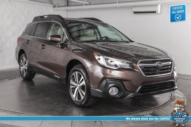 Certified Pre-Owned 2019 Subaru Outback 2 5i Limited, Moonroof + Navigation  System + High Beam AWD