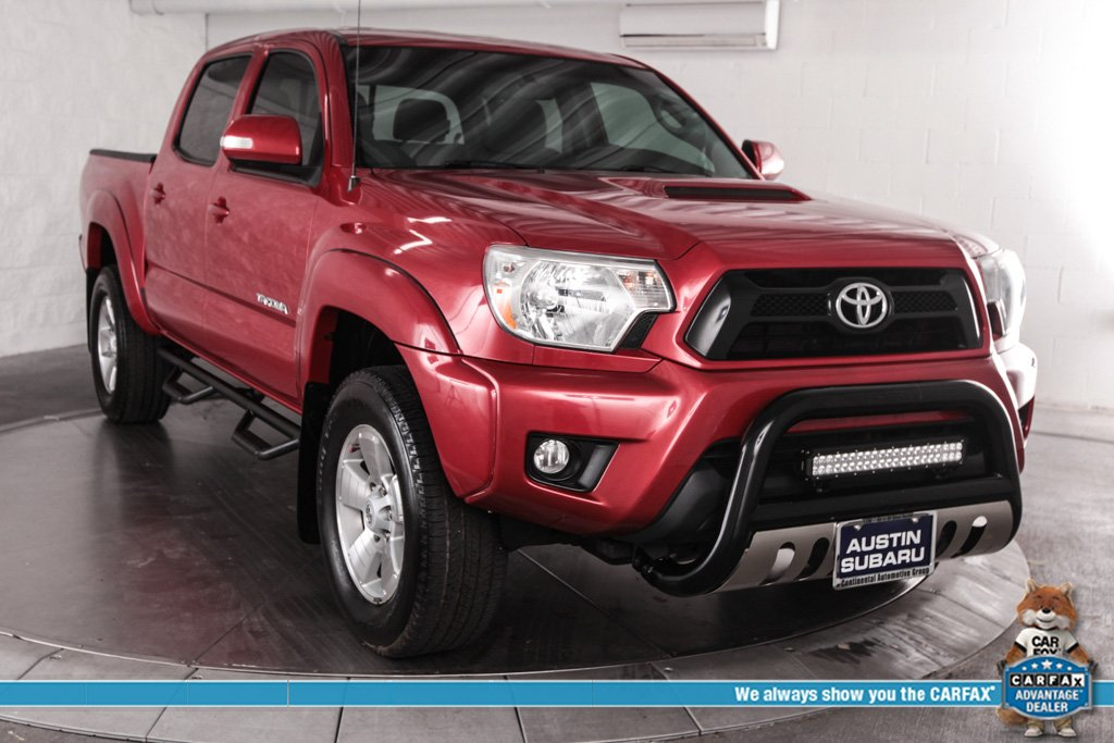 Pre Owned 2015 Toyota Tacoma Prerunner 4d Double Cab In Austin