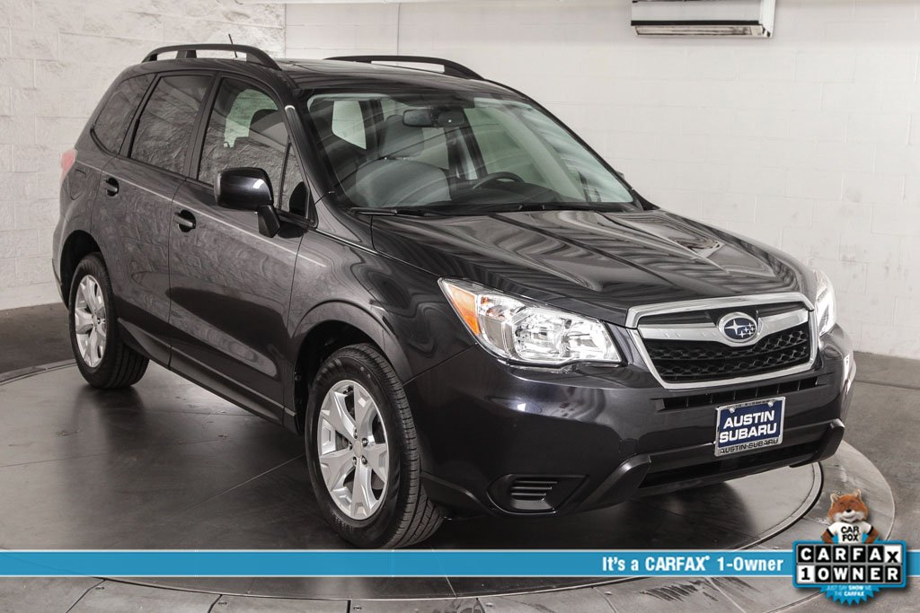 certified pre owned 2015 subaru forester premium 4d sport utility in austin up04200. Black Bedroom Furniture Sets. Home Design Ideas