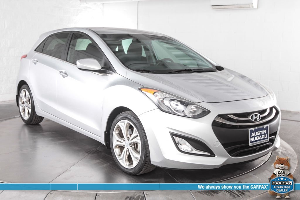 Pre Owned 2013 Hyundai Elantra Gt Base 4d Hatchback In Austin