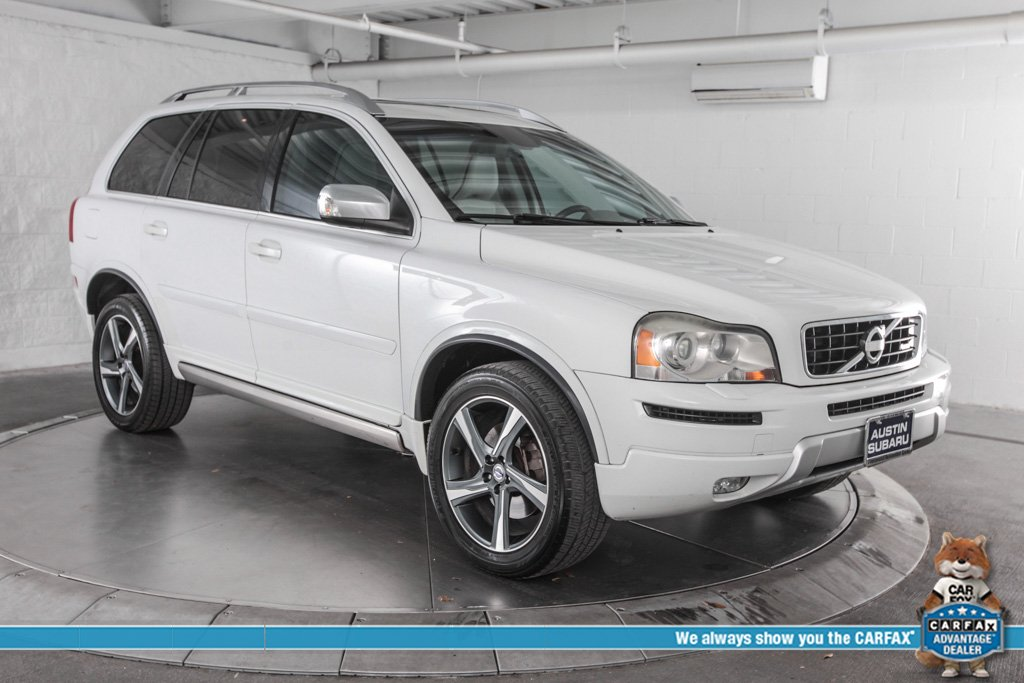 pre-owned 2013 volvo xc90 3.2 r-design 4d sport utility in austin